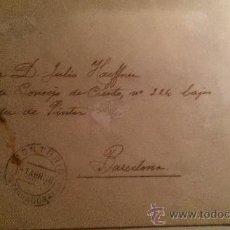 Sellos: 1938. CONSELL MUNICIPAL MONTBRIO DEL CAMP (TARRAGONA). NO HA SELLOS FIRMA ALCALDE GUERRA CIVIL. Lote 33986675