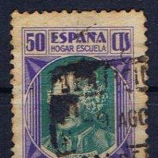 Sellos: HOGAR ESCUELA HUERFANOS DEL CUERPO DE CORREOS 1937 PEDAGOGOS EDIFIL 15 FECHADOR DE TANGER. Lote 36412088