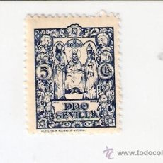 Sellos: NOODO. PRO SEVILLA. 5 CTS.. FOTO REVERSO.. Lote 34311244