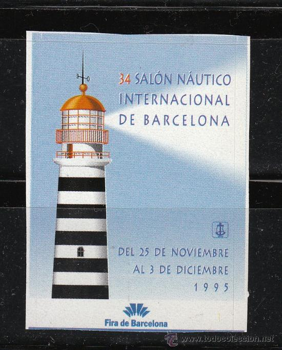 34 SALON NAUTICO INTERNACIONAL DE BARCELONA, (Sellos - España - Guerra Civil - Viñetas - Nuevos)
