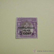 Sellos: SELLO HUÉRFANOS DE CORREOS HABILITADO PARA 5 CTS.. Lote 34943258