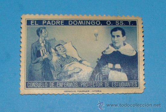 EL PADRE DOMINGO, O. SS. T. (CONSUELO DE ENFERMOS. PROTECTOR DE ESTUDIANTES). HERACLIO FOURNIER (Sellos - España - Guerra Civil - De 1.936 a 1.939 - Nuevos)