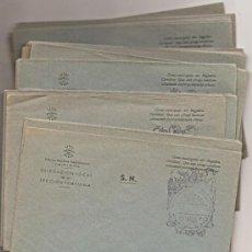 Sellos: FUENTES DE NAVA (PALENCIA): LOTE DE 40 SOBRES CON FRANQUICIA DE FALANGE. SIN USAR. Lote 34967294