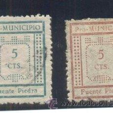 Sellos: FUENTE DE PIEDRA (MÁLAGA). Lote 35775398
