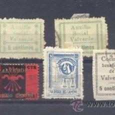 Sellos: VALVERDE (HUELVA). Lote 35807990