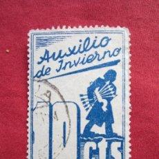Sellos: AUXILIO DE INVIERNO - 10 CENTIMOS . Lote 35920970