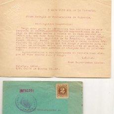 Sellos: SOBRE Y CARTA - 1939 - CENSURA MILITAR. Lote 35983607