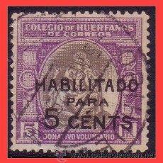 Sellos: BENEFICENCIA HUÉRFANOS DE CORREOS 1929 ALEGORÍA, EDIFIL Nº B8 (O) PALENCIA. Lote 36556888