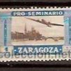 Sellos: VIÑETA 1 PTA PRO SEMINARIO ZARAGOZA . Lote 36802733