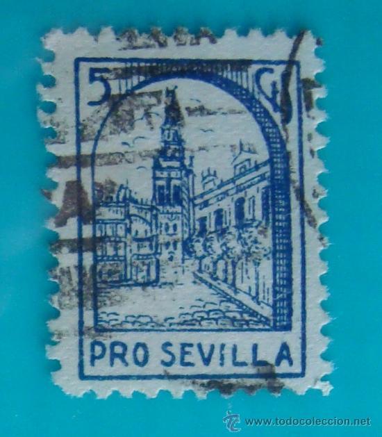 GRANADA, CORREOS, BENEFICENCIA, DIPUTACION PROVINCIAL, 5 CTS, CIRCULADA (Sellos - España - Guerra Civil - De 1.936 a 1.939 - Nuevos)