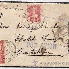Sellos: CENSURA DE LA GUERRA CIVIL. PALMA DE MALLORCA. 1938. Lote 37038140