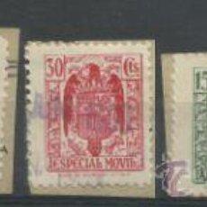 Sellos: 2536-SELLOS FISCALES 1937.PIE HIJOS FOURNIER VITORIA 35,00€,SOBRE FRAGMENTO ORIGINAL.SIN DEFECTOS . Lote 37140252