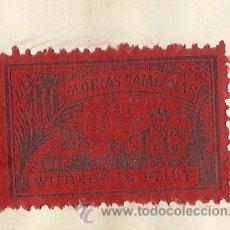 Sellos: COLECCION DE 125 VIÑETAS CATALANISTAS - VER FOTOS - (V-177). Lote 37607167