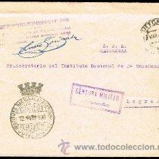 Sellos: ALAVA - S/CAT - CARTA CIRC. DE VITORIA A LOGROÑO 1938. Lote 37827947