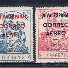 Sellos: BURGOS 1936 EDIFIL 21-22 NUEVOS** VALOR 2002 CATALOGO 10 EUROS. Lote 38265818