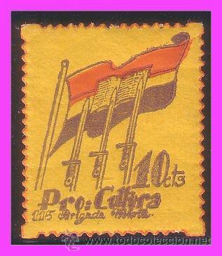 GUERRA CIVIL, PRO CULTURA, GUILLAMON Nº 2085 * * (Sellos - España - Guerra Civil - Viñetas - Nuevos)