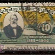Sellos: VIÑETA 89 ANIVERSARIO COLEGIO DE HUERGANOS DE TELEGRAFOS USADO. Lote 39570873