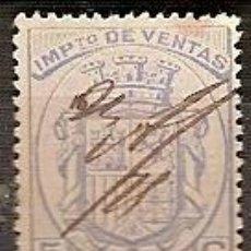 Sellos: IMPUESTO DE VENTAS 5 CENT USADO . Lote 39629700