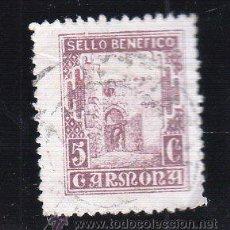 Sellos: VIÑETA. GUERRA CIVIL ESPAÑA. SELLO BENEFICO. CARMONA, SEVILLA. CHARNELA . Lote 39696804