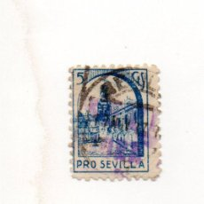 Sellos: PRO SEVILLA, 5 CTS.. Lote 40413090