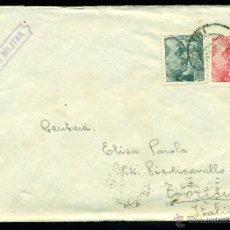 Sellos: *** PRECIOSA CARTA 1939 CON CENSURA BARCELONA CUARTEL DE LEPANTO POR EL SACERDOTE CTV (ITALIANO) ***. Lote 40642365