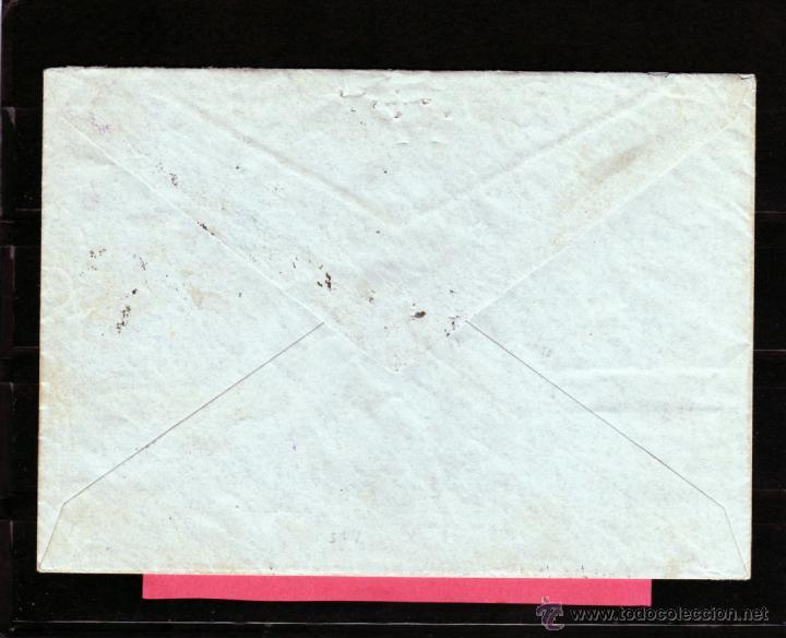 Sellos: GUERRA CIVIL 1937 CARTA CORREO AEREO POR AVION DE LAS PALMAS A GINEBRA, CENSURA OFICIAL MILITAR IRUN - Foto 2 - 40690833