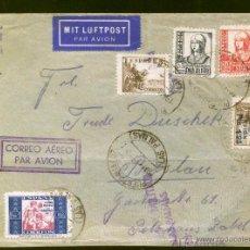 Sellos: 1937.- LAS PALMAS A ALEMANIA. Lote 40805247