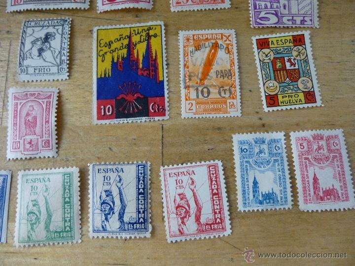 Sellos: 25 sellos de beneficencia, nuevos, con su goma, diferentes - Foto 5 - 40836121