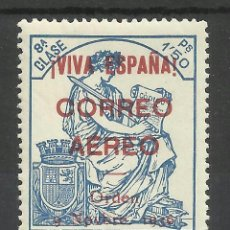 Sellos: BURGOS 1936 EDIFIL 21 NUEVO** VALOR 2002 CATALOGO 5.-- EUROS. Lote 40908877