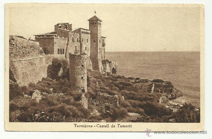 CIRCULADA 1936 CASTILLO TAMARIT TARRAGONA DE VALENCIA A USA (Sellos - España - Guerra Civil - De 1.936 a 1.939 - Cartas)