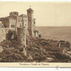 Sellos: CIRCULADA 1936 CASTILLO TAMARIT TARRAGONA DE VALENCIA A USA . Lote 40925436