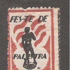 Sellos: VIÑETA PALESTRA CATALOGO NATHAN NUM 67 AÑO 1932 PRE GUERRA CIVIL - VIÑETA CATALANISTA. Lote 40983894