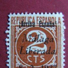 Sellos: ARRIBA ESPAÑA 1937 - MALAGA LIBERADA - 2 CTS NUEVO. Lote 41032577