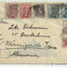 Sellos: CIRCULADA 1940 DE BARCELONA A ALEMANIA CON CENSURA MILITAR CORREO . Lote 41037783