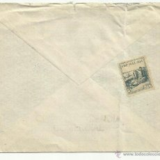 Sellos: CIRCULADA 1938 DE MALAGA A ESTOCOLMO CON CENSURA MILITAR DE MALAGA Y SELLO LOCAL . Lote 41050108