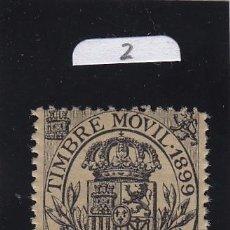 Sellos: FISCAL 101 TIMBRE MOVIL 1899 CATALOGO GALVEZ NUEVO SIN CHARNELA 5 CTS. NEGRO. Lote 41054443