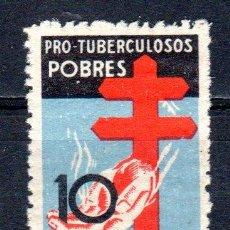 Sellos: ED Nº 840 PRO TUBERCULOSOS (VARIEDAD DE DENTADO). Lote 41556483