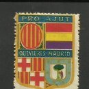 Sellos: VIÑETA PRO AJUT QUEVIURES MADRID - UNA PESSETA - (V-513). Lote 41645778