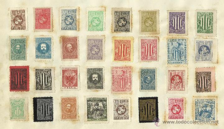 Sellos: COLECCION DE 125 VIÑETAS CATALANISTAS - VER FOTOS - (V-177) - Foto 17 - 37607167