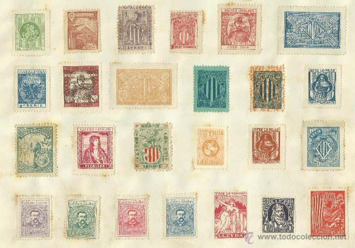 Sellos: COLECCION DE 125 VIÑETAS CATALANISTAS - VER FOTOS - (V-177) - Foto 18 - 37607167