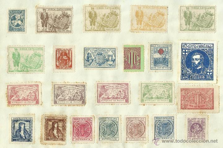 Sellos: COLECCION DE 125 VIÑETAS CATALANISTAS - VER FOTOS - (V-177) - Foto 19 - 37607167
