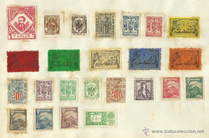 Sellos: COLECCION DE 125 VIÑETAS CATALANISTAS - VER FOTOS - (V-177) - Foto 21 - 37607167