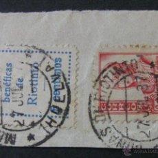 Sellos: MATASELLOS GUERRA CIVIL - MINAS DE RÍO TINTO (HUELVA). Lote 42764080
