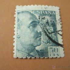 Sellos: SELLO-ESPAÑA-50 CTS-FRANCO-DESPLAZADO-.. Lote 42996993