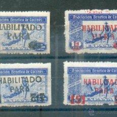 Sellos: ASOCIACION BENÉFICA DE CORREOS .- 70/73 I, II .- VALOR CATÁLOGO 30 EUROS. Lote 244655730
