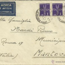 Sellos: GUERRA CIVIL CC TROPAS ITALIANAS MAT UFFICIO POSTALE SPEZIALE ETIQUETA ALA LITTORIA. Lote 43420850