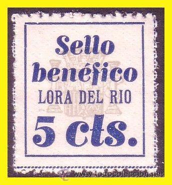 SEVILLA LORA DEL RÍO GUERRA CIVIL FESOFI Nº 1 * * (Sellos - España - Guerra Civil - Locales - Nuevos)