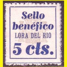Sellos: SEVILLA LORA DEL RÍO GUERRA CIVIL FESOFI Nº 1 * *. Lote 43461174