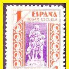 Sellos: BENEFICENCIA HUÉRFANOS DE CORREOS 1937 PEDAGOGOS EDIFIL Nº 16PC (*). Lote 43545501