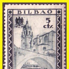 Sellos: VIZCAYA BILBAO GUERRA CIVIL, FESOFI Nº 10 * . Lote 43889767